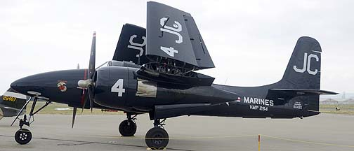 Grumman F7F-3P Tigercat NX909TC, May 14, 2011